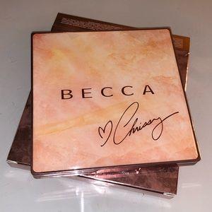 BECCA X Chrissy Teigen Glow Face Palette BRAND NEW